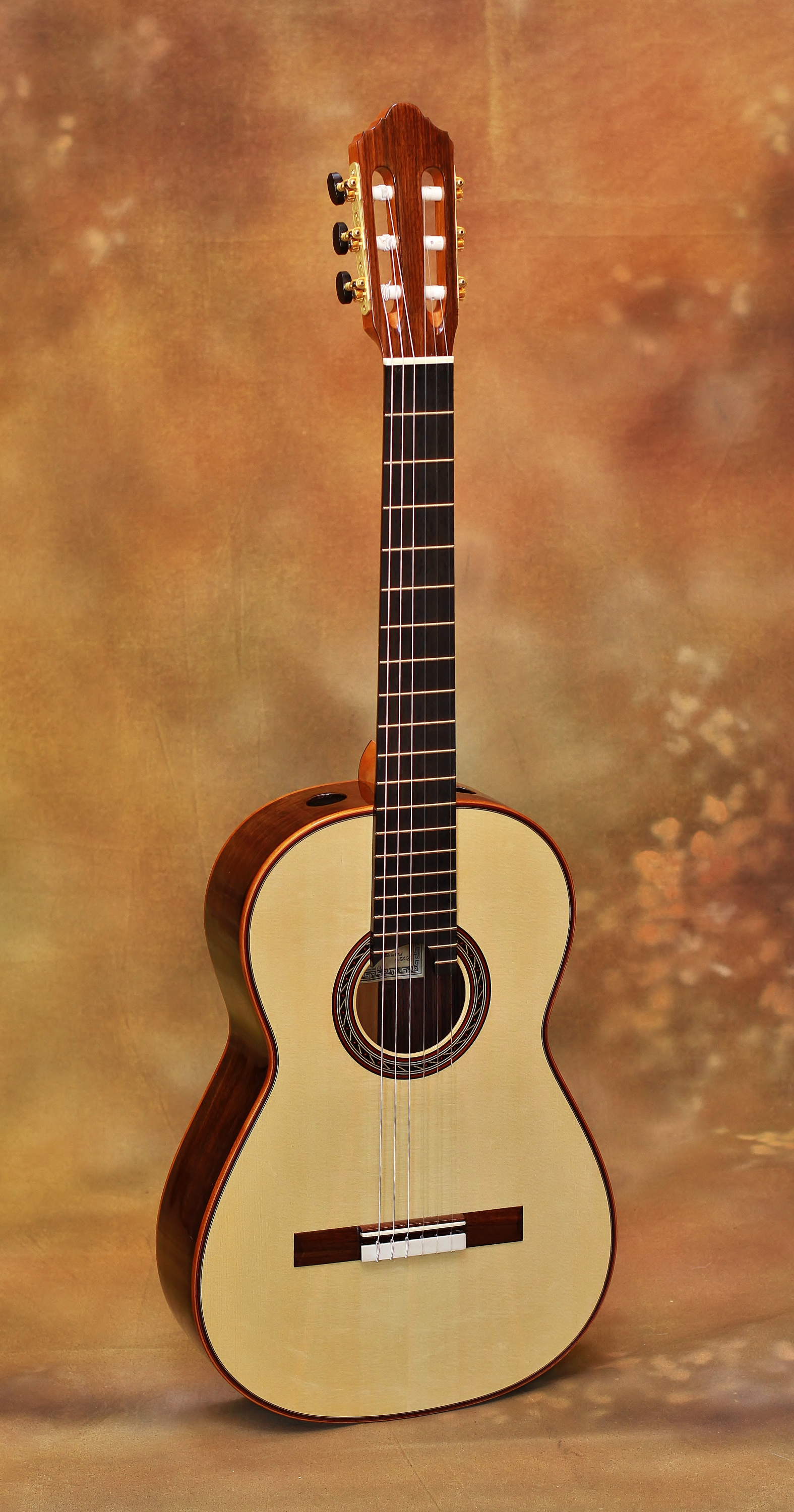 Kenny Hill Performance Spruce Classical Guitar 3258