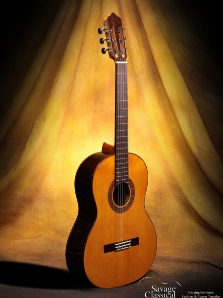 Kenny Hill Estudio 628mm Cedar Classical Guitar