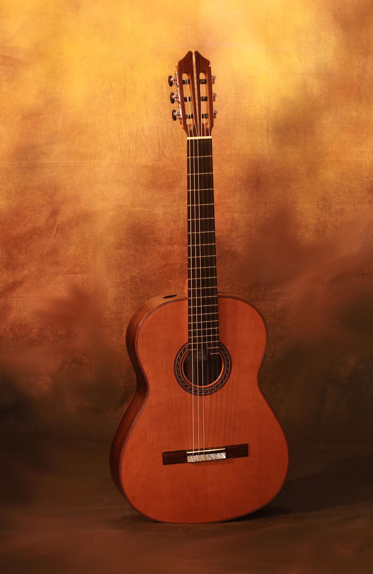 Kenny Hill Signature Cedar Double Top Classical Guitar