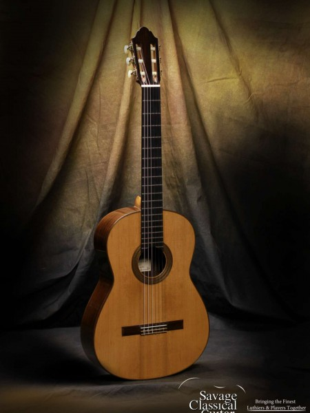 Dominique Field Classical Guitar #72