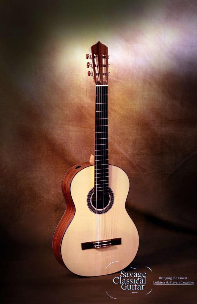 Larry breslin 2013 spruce cocobolo deerhead guitars - Cocobolo granada ...