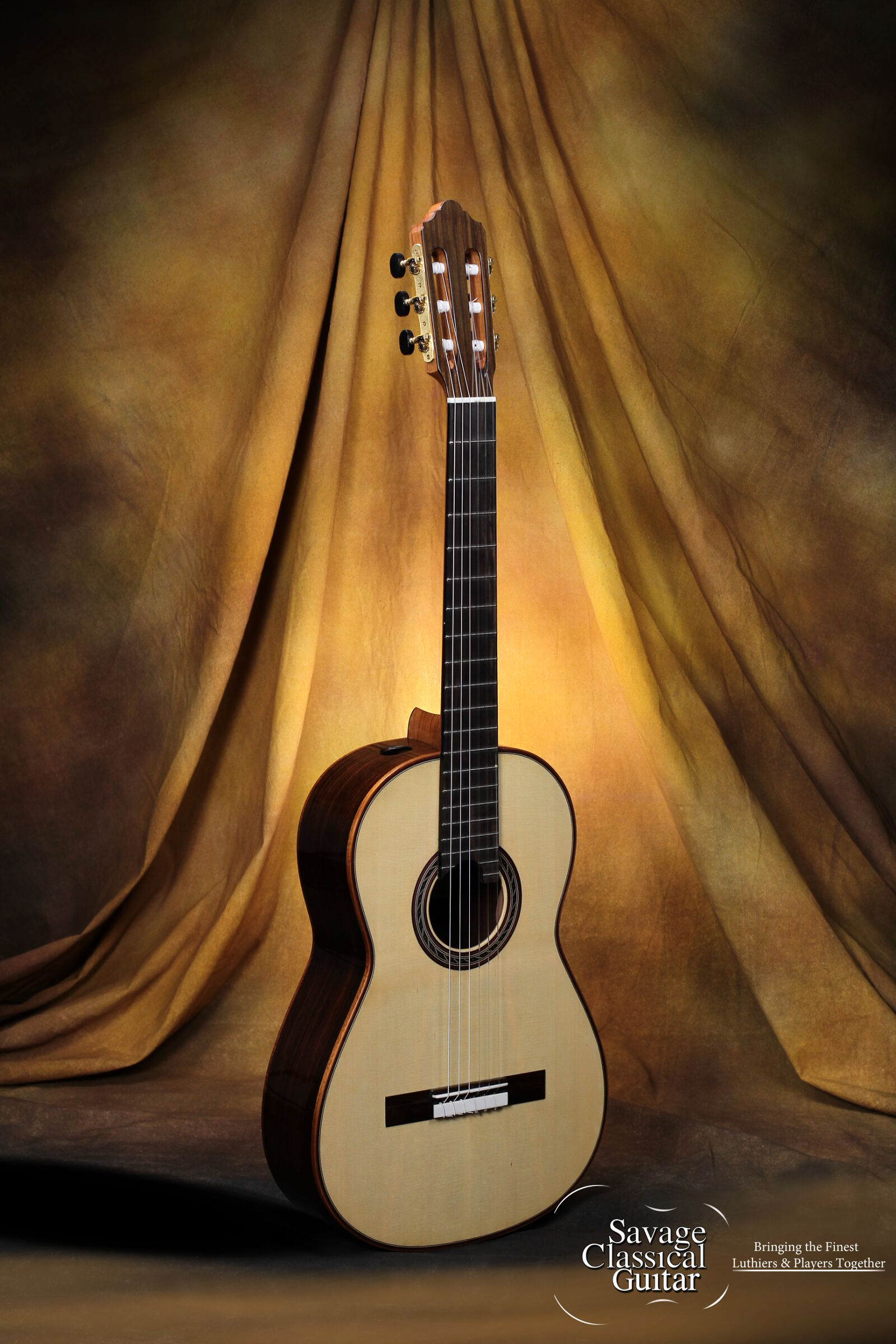 Kenny Hill Performance Classical Guitar By Savage