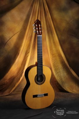 Manuel Adalid Classical Guitar Model 12 Spruce w/Pau Ferro