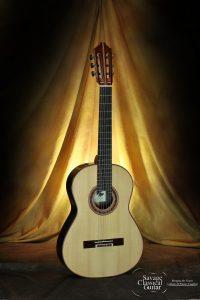 Steve Porter Classical Guitar #28 Quantum Model Spruce w/EIRW