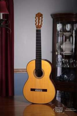 Richard Bruné Classical Guitar #638 Spruce Brazilian