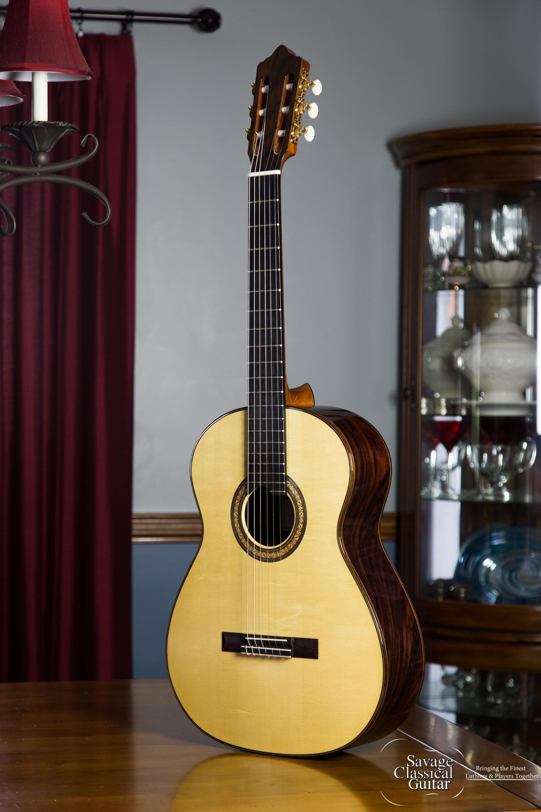 ashley sanders classical guitar for sale by savage classical guitar. Black Bedroom Furniture Sets. Home Design Ideas