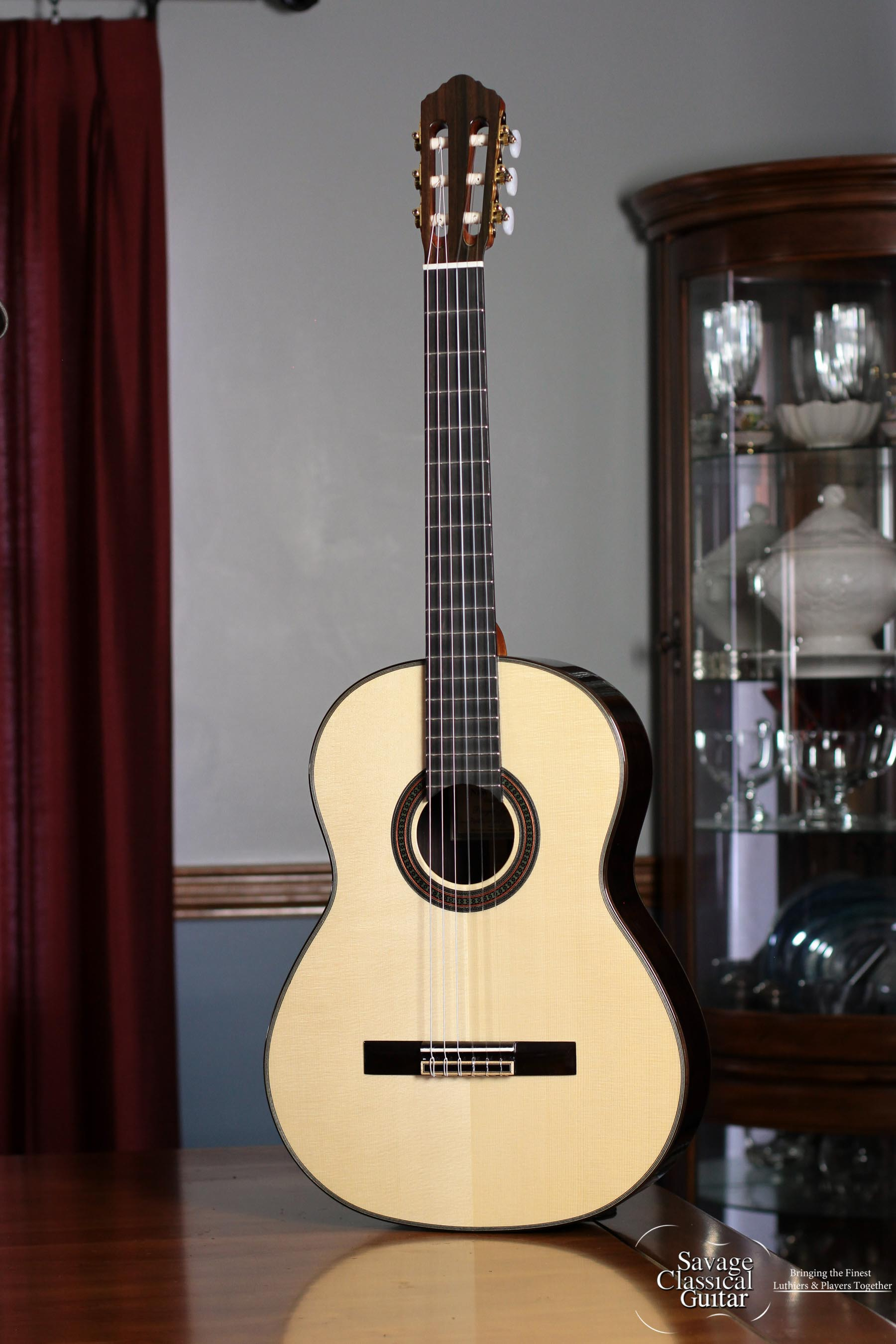 Hill Player Classical Guitar Offered By Savage Classical