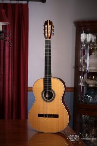 Steve Connor Classical Guitar #310 2015 Cedar EIRW