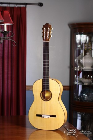 Claudio Meneghelli Classical Guitar Torres FE-04 2013 #2