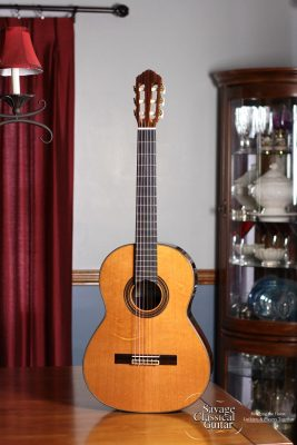 Kenny Hill Classical Guitar Player Series - 628mm Scale Length - Cedar w/EIRW