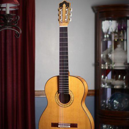 Jean Rompre Classical Guitar - 2012 - Cedar w/Big Leaf Maple #132