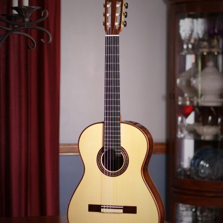 Kenny Hill Performance Classical Guitar #3932 Spruce 630mm 7/8 Size