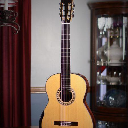 Kim Lissarrague Classical Guitar #257 2016 Cedar Cocobolo