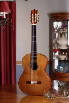 Richard Prenkert Classical Guitar #314 Cedar Double Top