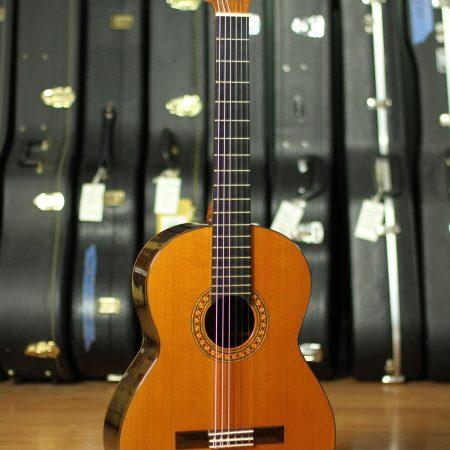 Robert Ruck Classical Guitar 1973 Cedar CSA