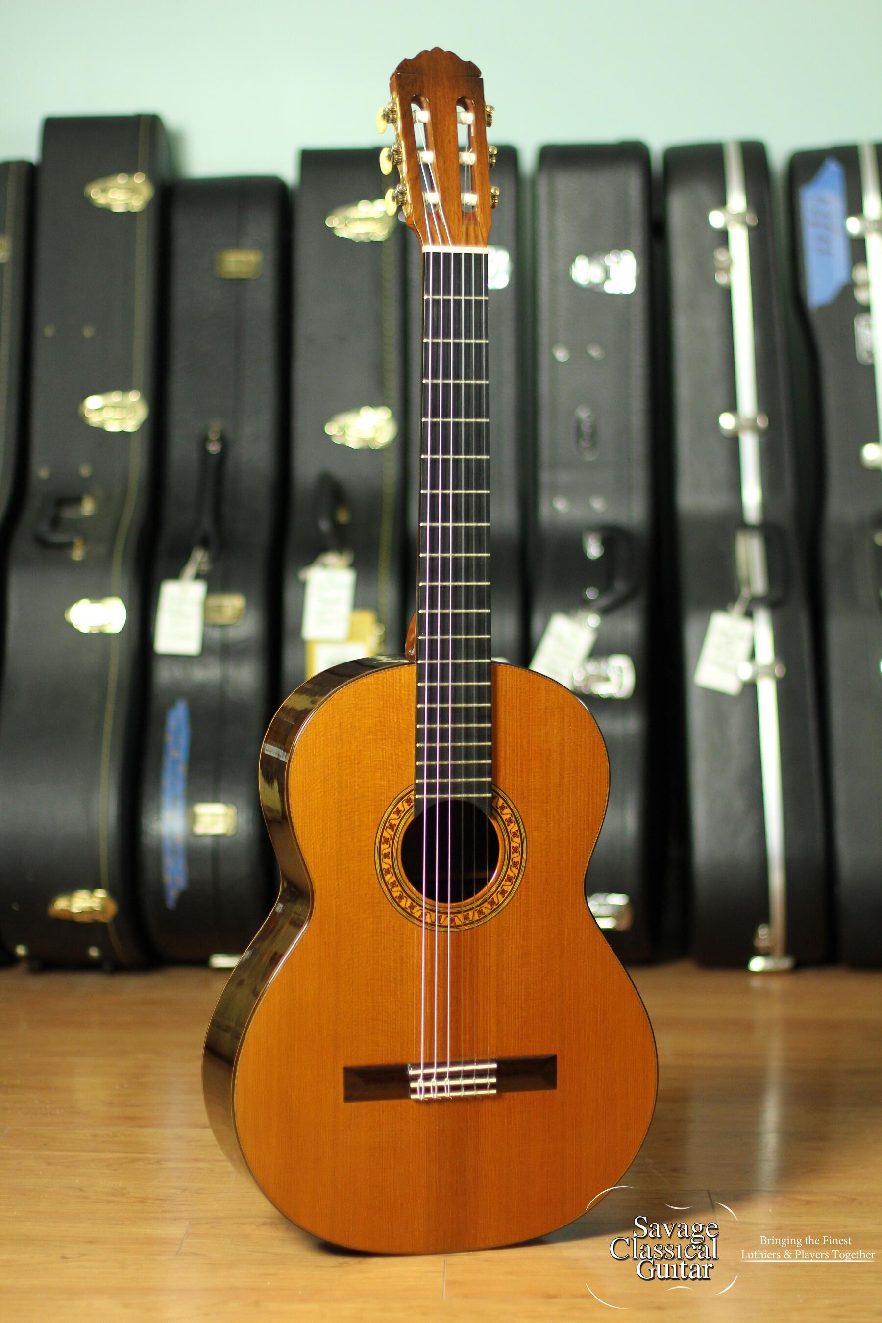 Robert Ruck Classical Guitar Cedar
