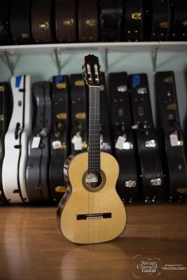 Darren Hippner Classical Guitar #855 - Santos Model - Spruce CSA