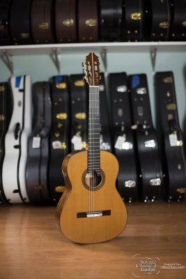 Kenny Hill Signature Classical Guitar #4038 - Cedar 640mm