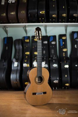 Michael Batell Classical Guitar #58 Cedar Macassar Ebony