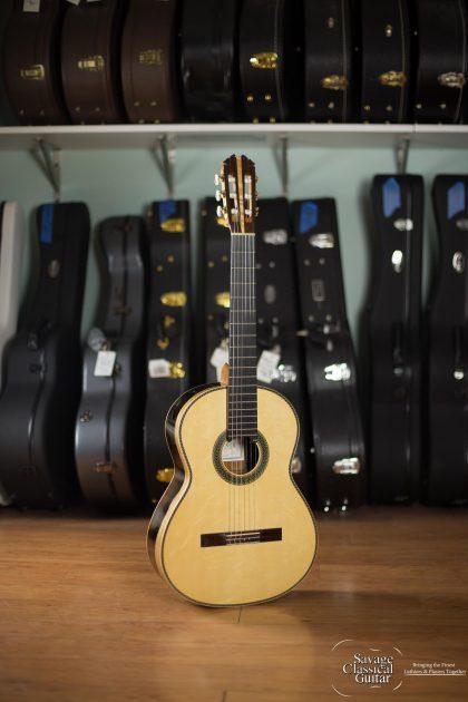 """Steve Connor Classical Guitar 2015 Spruce CSA #307 """"Faith"""""""