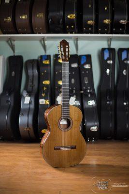 Darren Hippner Classical Guitar #834 Starburst Spruce CSA