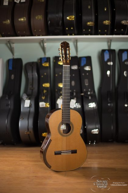 Jim Redgate Classical Guitar #408 2016 Cedar