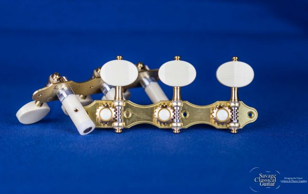 Alessi Tuning Machines - Hauser 1 with Oval Ivory Buttons