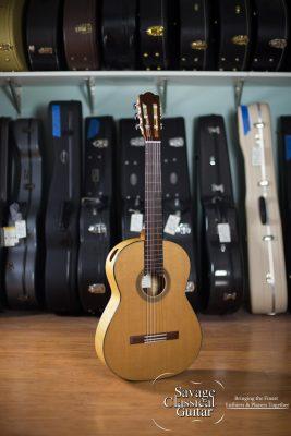 2017 Douglass Scott Classical Guitar - Western Red Cedar Maple