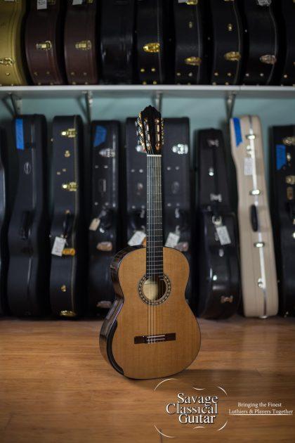 Kim Lissarrague Classical Guitar #277 2017 Cedar Ziricote