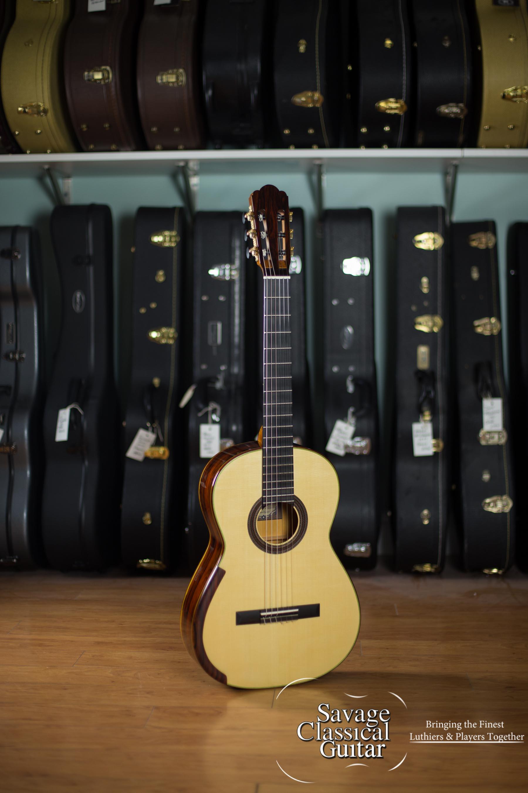 Alejandro Cervantes Signature Hauser Classical Guitar #458 Spruce Cocobolo