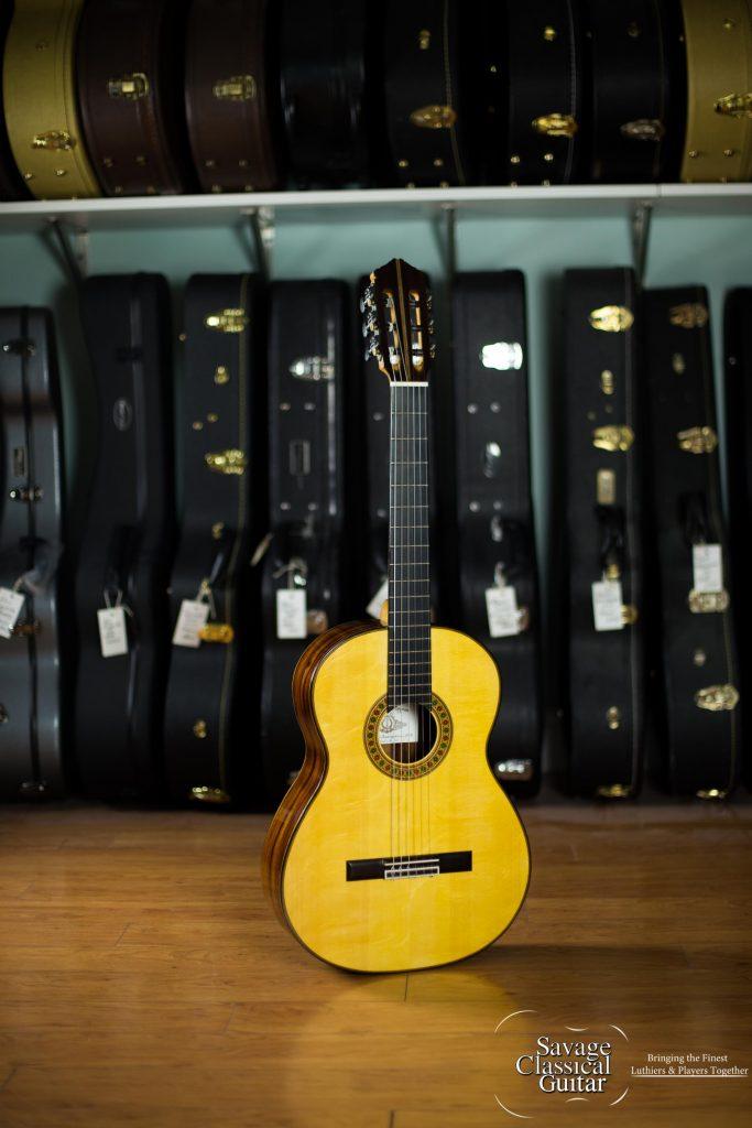 Darren hippner classical guitar 745 rodriguez spruce cocobolo - Cocobolo granada ...