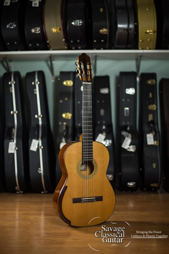 Alejandro cervantes signature fleta classical guitar 427 - Cocobolo granada ...
