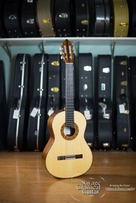 Rich DiCarlo Classical Guitar #2115 2015 Spruce EIRW