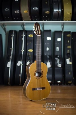Rich DiCarlo Classical Guitar 2015 #3143 Cedar EIRW