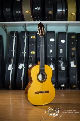 2015 Dieter Hopf Classical Guitar Professional 62 #4919 Spruce Santos RW