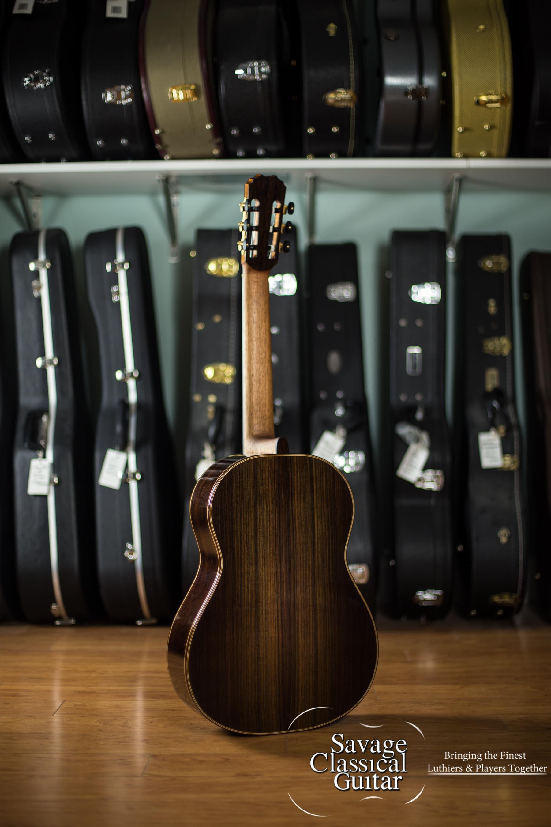 Jeremy Cooper 2013 Classical Guitar #63 Western Red Cedar EIRW