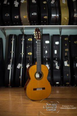 Juan Hernandez Classical Guitar Romance #111 Spruce Madagascar RW