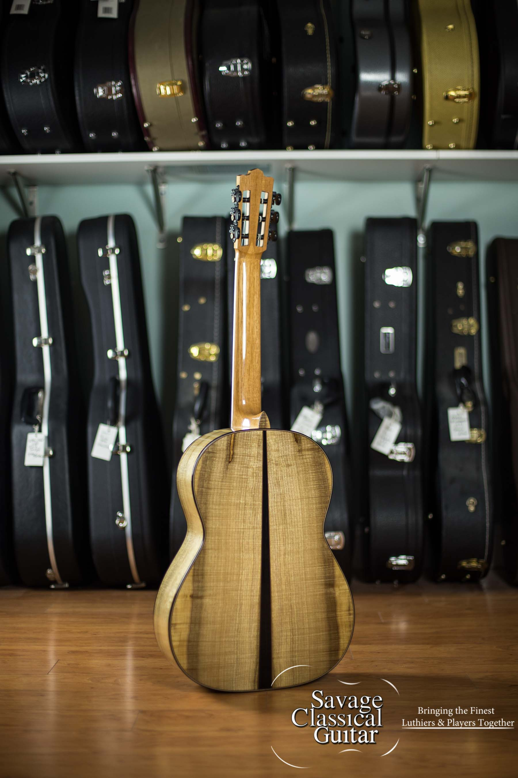 Maxwell Sipe Classical Guitar #54 2017 Cedar Myrtle