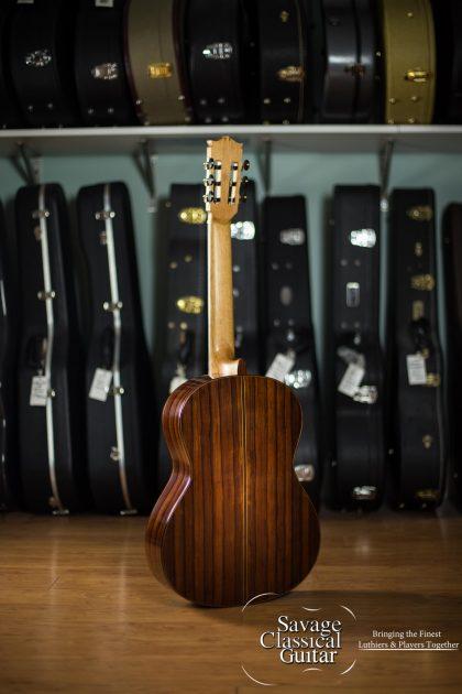 Richard Prenkert 2017 Classical Guitar #390 Cedar Double Top w/Madagascar RW