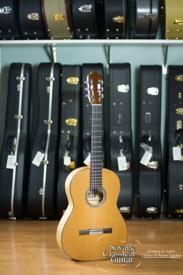 2016 Jason Wolverton Classical Guitar - Western Red Cedar Maple