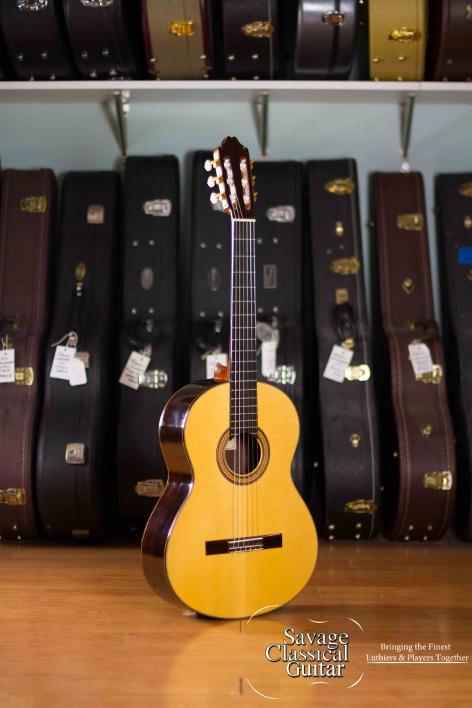 Thomas malapanis classical guitar offered by savage - Cocobolo granada ...
