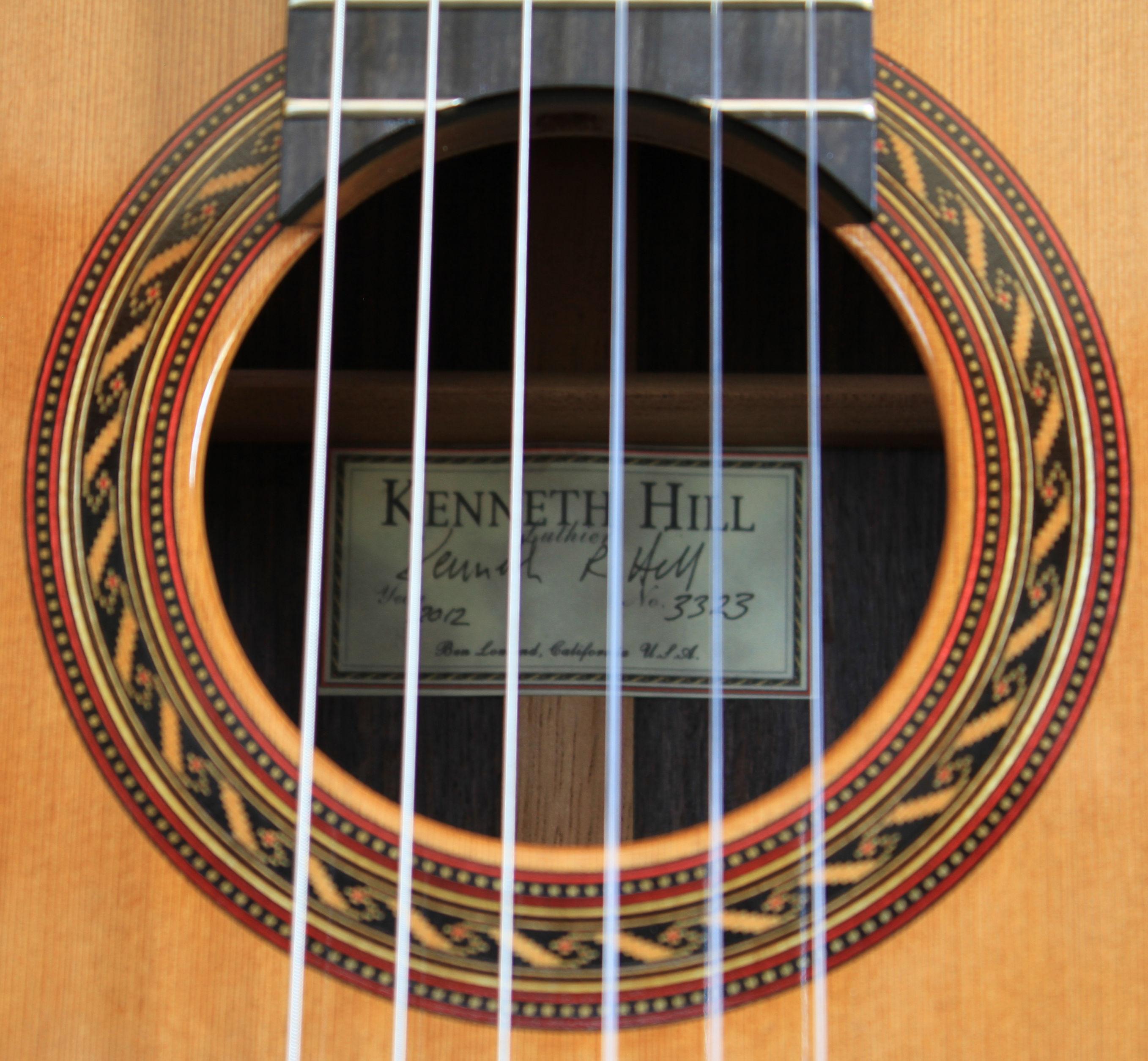 Kenny Hill Signature Classical Guitar 3323 Cedar