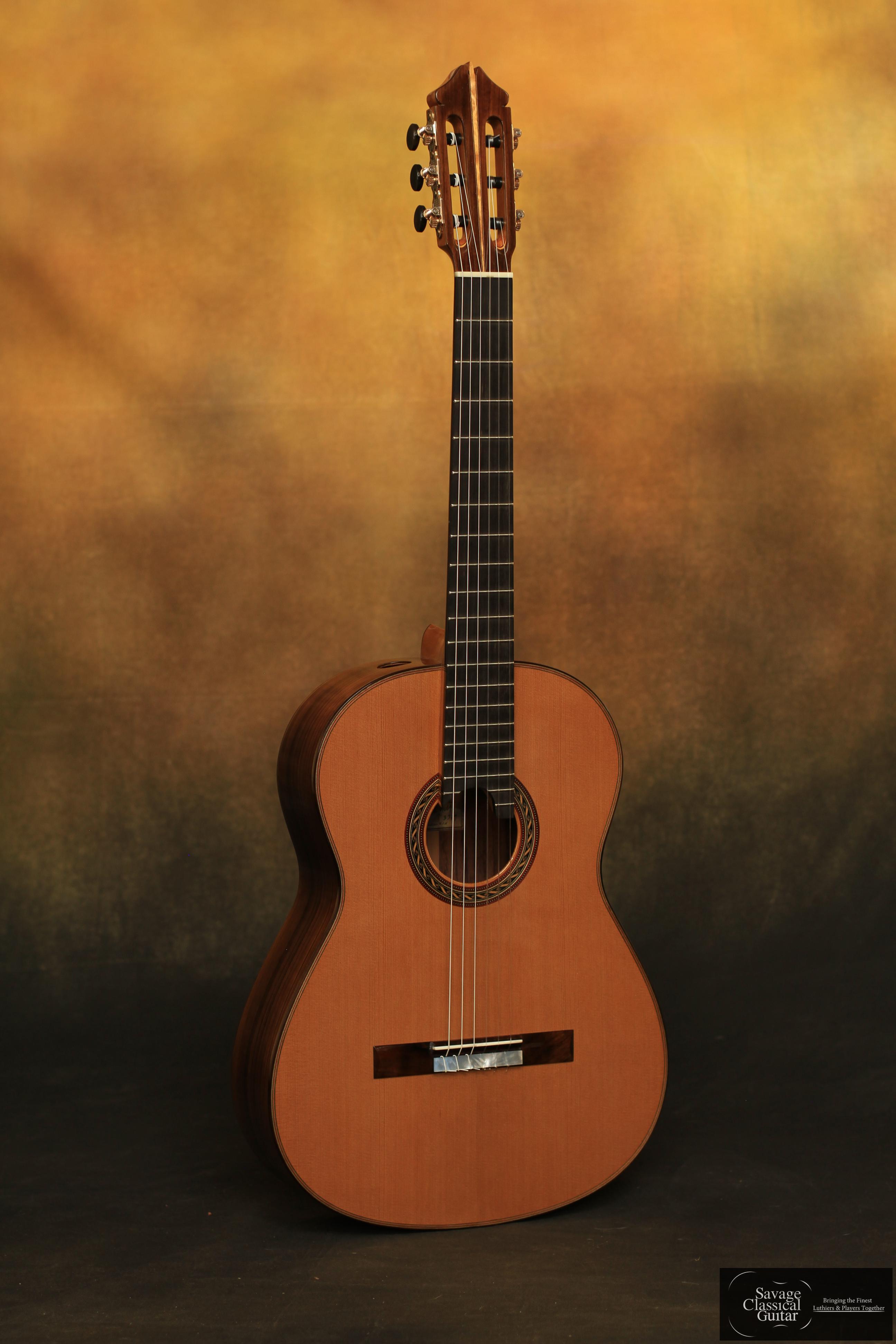 Kenny Hill Signature Classical Guitar 3379 Cedar