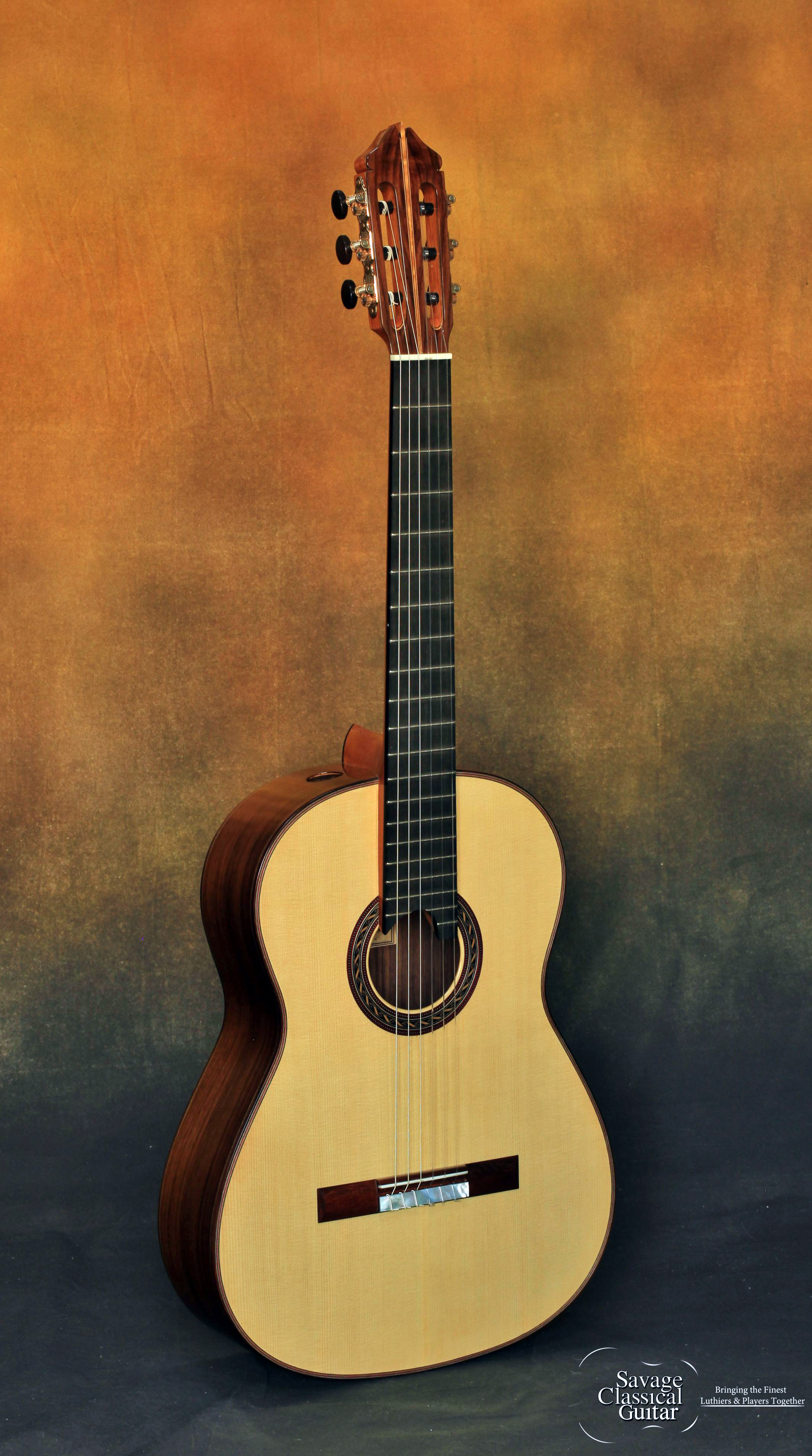 Kenny Hill Signature Classical Guitar 3385 Spruce